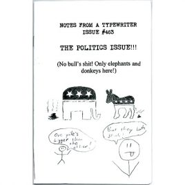 Notes from a Typewriter: The Politics Issue